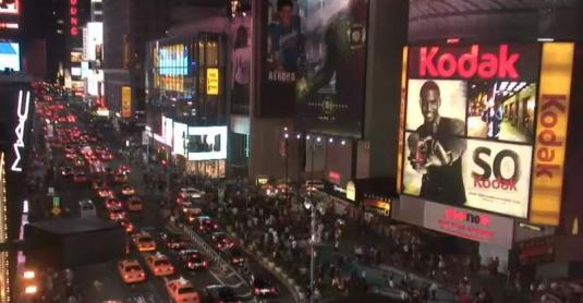 Live HD view of 7th Avenue, Broadway, Times Square, New York