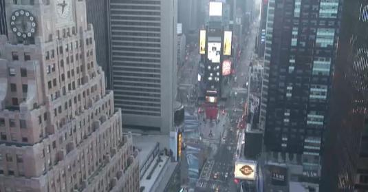 Live Aerial Streaming Webcam View of Times Square