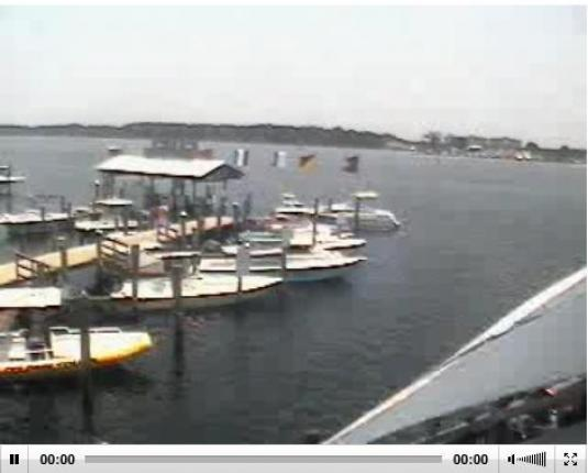 Grand Lagoon live streaming weather webcam Panama City beach FL