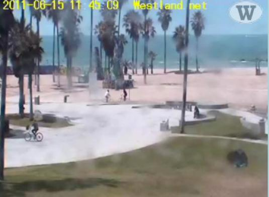 Venice Beach live streaming weather cam Los Angeles CA