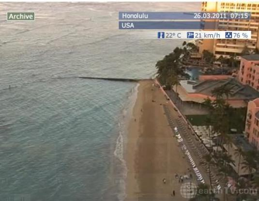 Live streaming Waikiki Beach weather cam Honolulu