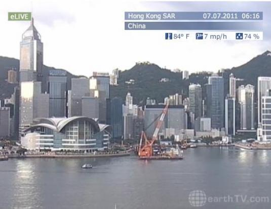 Hong Kong Live Down Town Streaming Video Camera