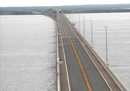 Confederation Bridge Live Streaming Video Traffic cam
