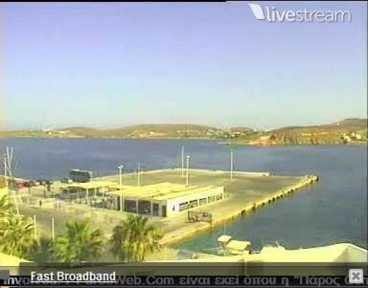 Parikia Port Weather Streaming Camera Paros Greece