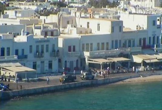 Mykonos live streaming weather cam Greece