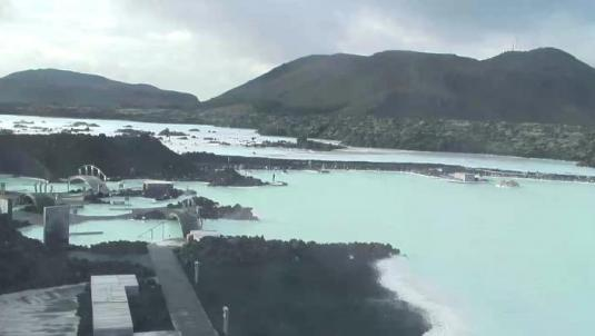 Blue Lagoon live streaming video webcam Iceland