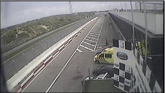 Zandvoort motor racing circuit streaming camera