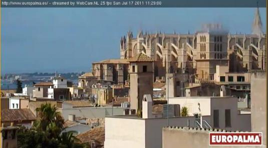 Palma Mallorca live streaming video weather cam