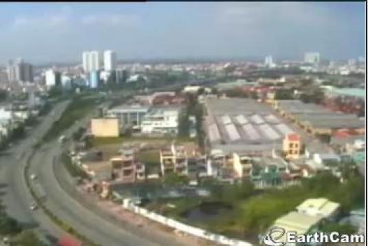 Ho Chi Minh City live streaming traffic weather cam