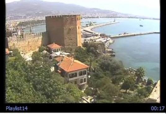 Alanya live Town video streaming webcam