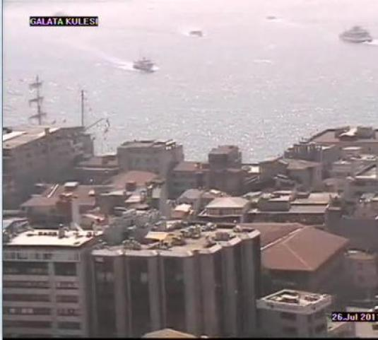 Galata Tower streaming video webcam