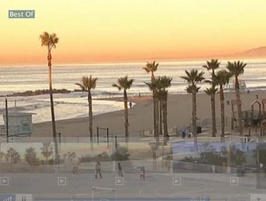 Los Angeles live Venice beach weather cam