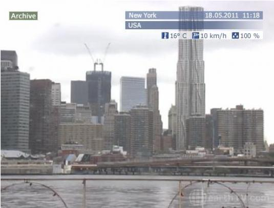 NYC live HD video streaming Big Apple live webcam
