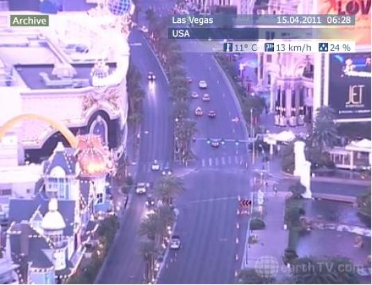 Downtown Las Vegas live streaming Las Vegas Strip HD camera