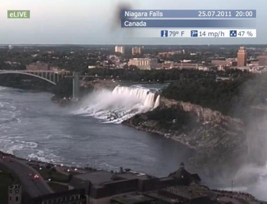 Niagara Falls live video streaming HD webcam