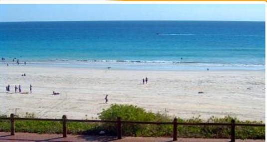 Cable Beach live streaming weather cam