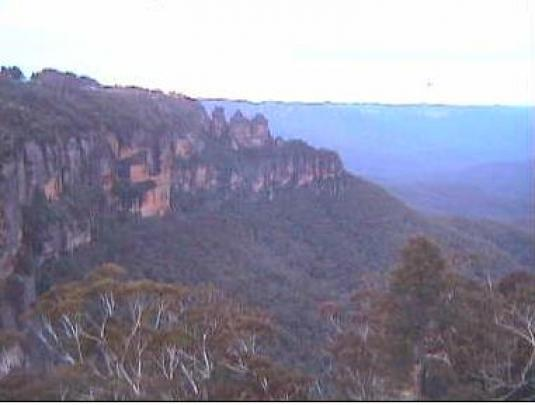 Blue Mountains streaming weather webcam
