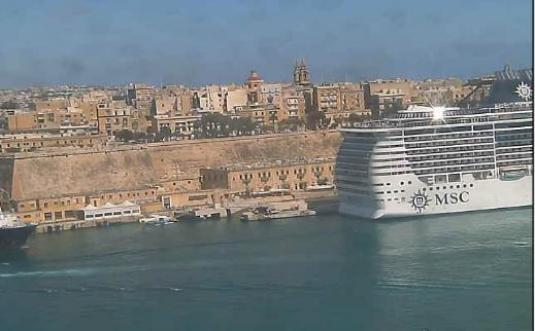 Valletta Grand Harbour streaming webcam
