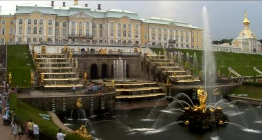 Peterhof Palace live streaming webcam St Petersburg