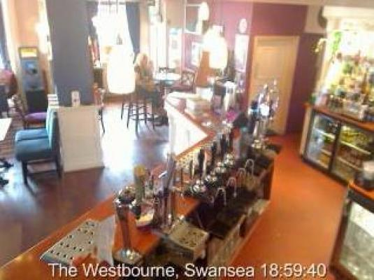 The Westbourne Bar streaming video Bar Cam Swansea WAles