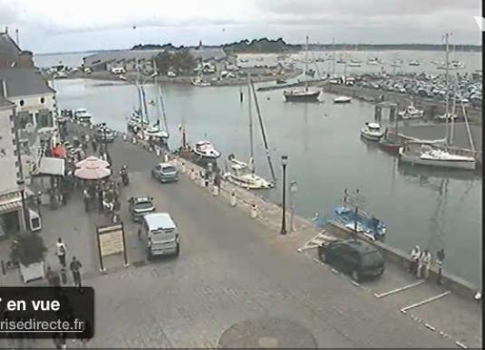Le Croisic Marina weather streaming cam