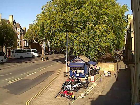 Live Oxford Town Centre Weather Camera
