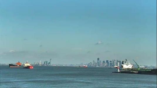 New York Harbor streaming live webcam NYC