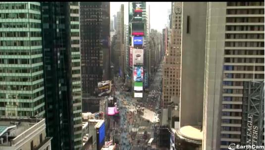 Times Square Live Traffic Cam