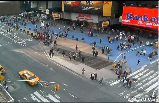 Live Times Square Panoramic streaming webcam