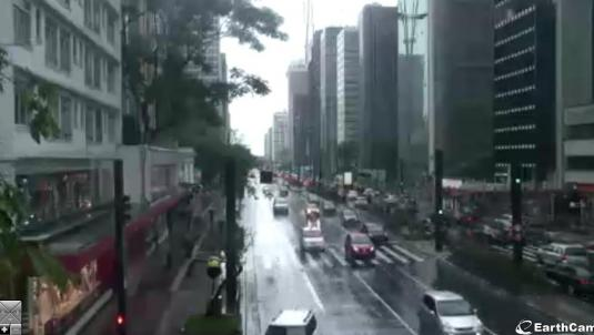 São Paulo city centre streaming webcam Brazil