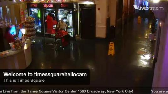 Times Square Visitor Centre Live Streaming HD Real Time Camera NYC