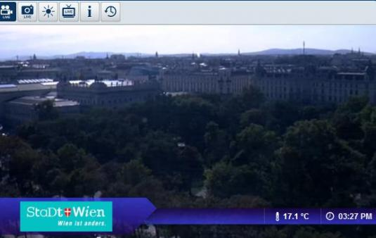 Live Vienna City Real Time Streaming Weather Cam in Austria
