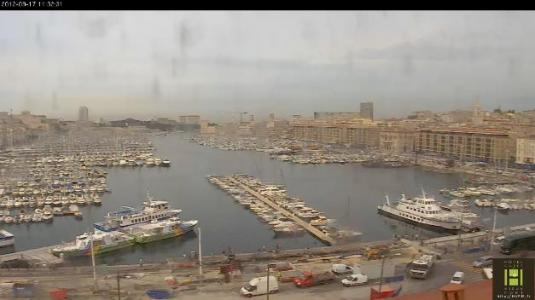 LIVE Marseille Marina HD Weather Cam