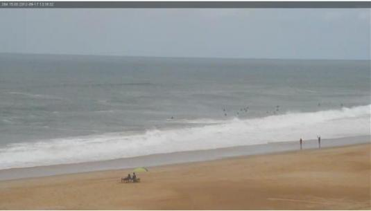 LIVE Streaming Soorts-Hossegor Beach Surfing Weather Webcam HD