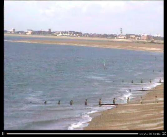 Hayling Island LIVE HD Streaming Weather Beach Surf Webcam