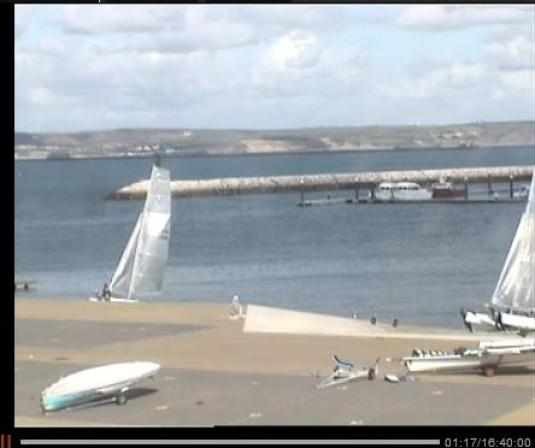 LIVE Weymouth and Portland Sailing Weather Streaming HD Webcam