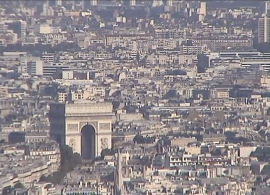 Arc de Triomphe Live Streaming Webcam in Paris - France
