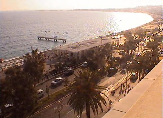 Promenade des Anglais Live Streaming Video Camera Nice - France