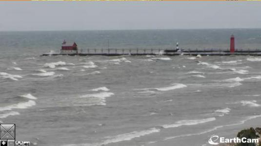 Grand Haven Michigan Live Streaming Video Beach Weather Camera