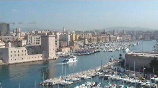Old Port of Marseille Live Streaming Video Camera