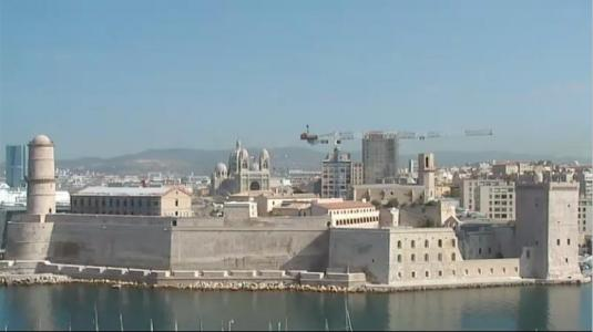 Fort Saint-Jean LIve Streaming HD Video Cam Marseille