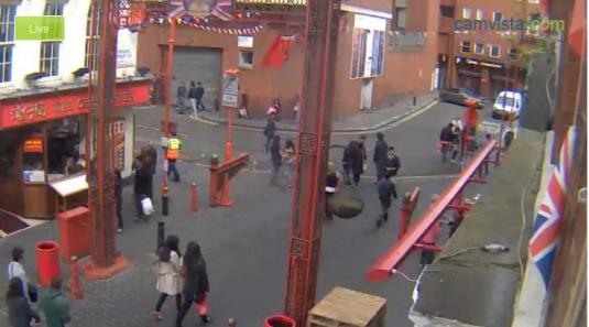Live streaming hd webcam in chinatown london for Camera streaming live