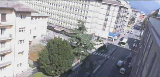 Aosta Live City Centre Streaming Traffic Cam in the Italien Alps