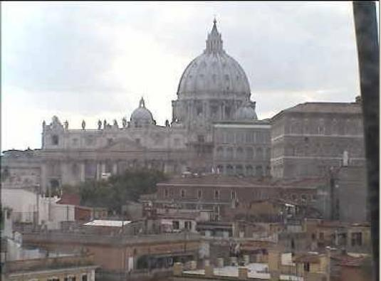 St. Peter\'s Basilica Vatican Streaming Rome Webcam Italy