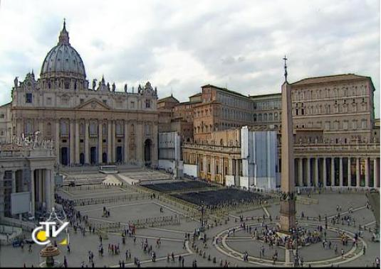 St Peter\'s Square HD Streaming Rome Webcam in Italy