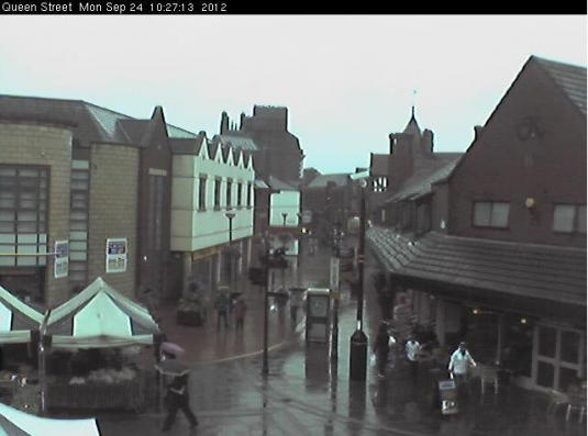 Wrexham LIVE Streaming HD Town Centre Webcam
