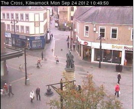 LIVE Kilmarnock City Centre HD Webcam