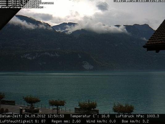 Live Streaming HD Brienz Lake Weather Webcam