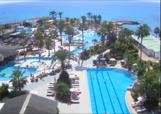 Ayia Napa Live Nissi Bay Streaming Weather Cam in Cyprus