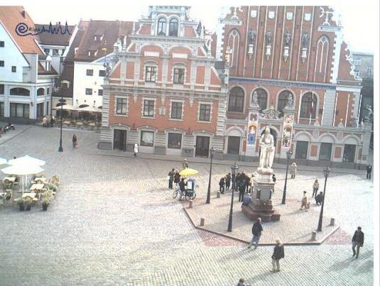 Riga Old Town Real Time Webcam in Latvia